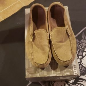 Mens Used Suede Loafers